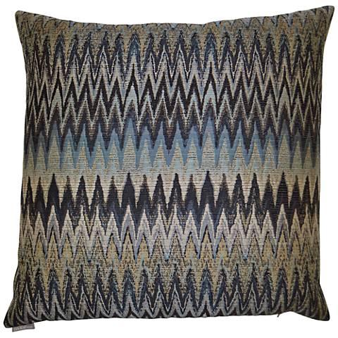 "Inferno Smoke 24"" Square Decorative Throw Pillow"