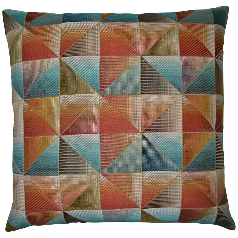 """Immortal Multi-Color 24"""" Square Decorative Throw Pillow"""