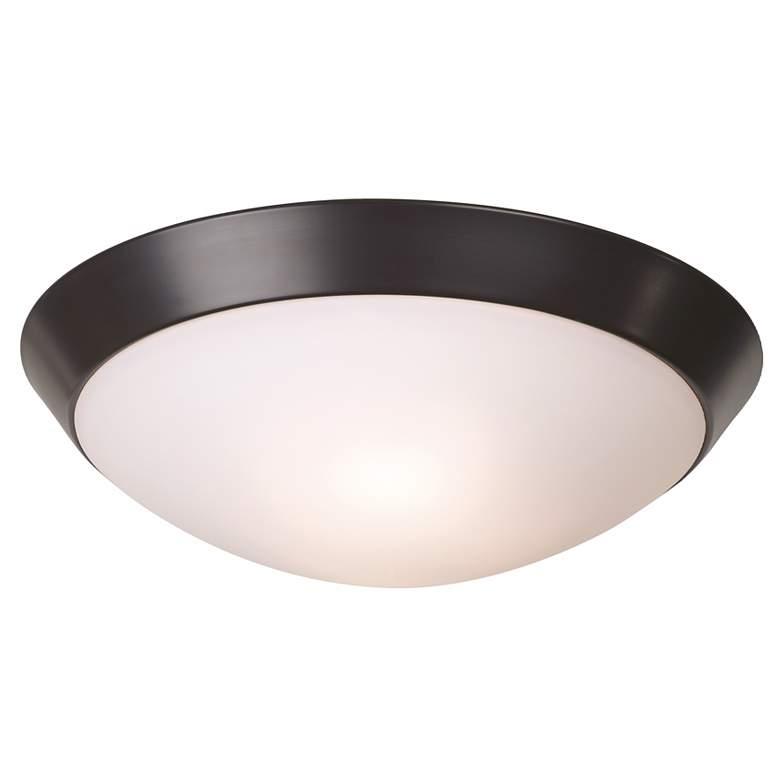 "Davis 11"" Wide Oil-Rubbed Bronze Ceiling Light Fixture"