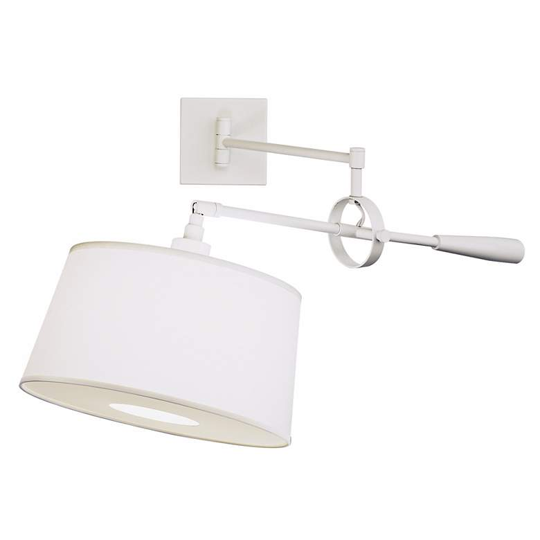 Real Simple Stardust White Boom Plug-In Swing Arm