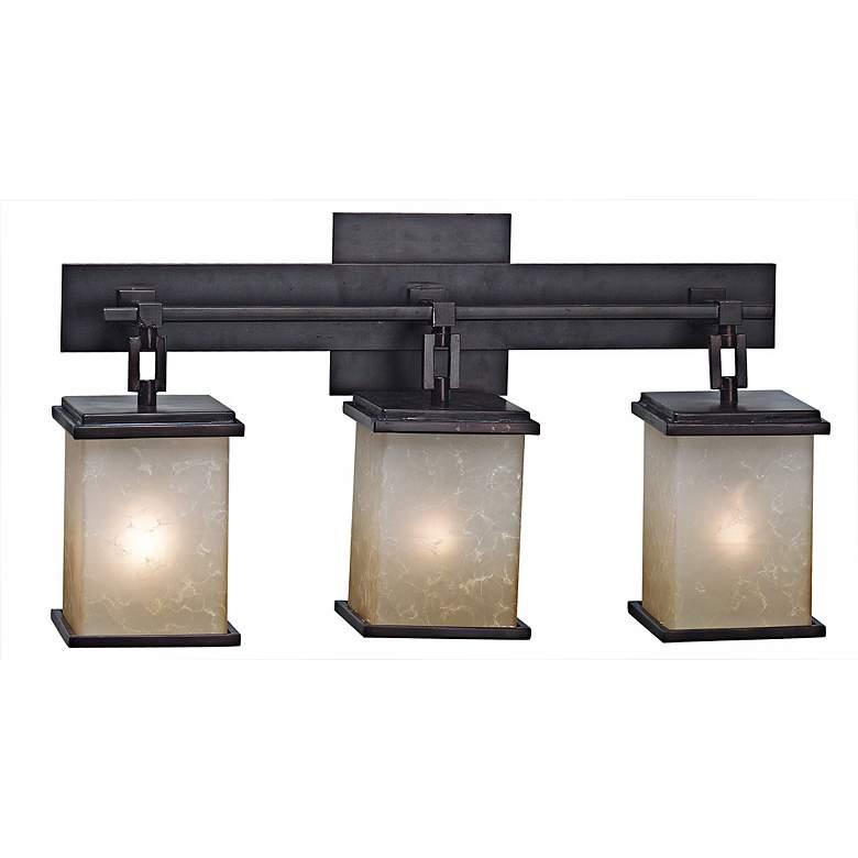 Corteo Collection Three Light Bath Light Fixture
