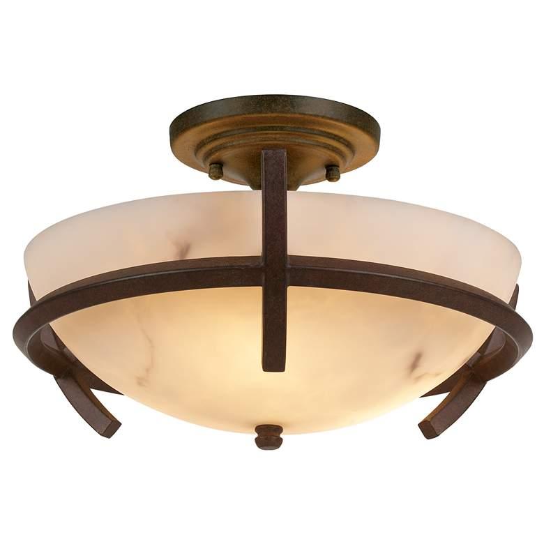 "Calavera Collection 14"" Wide Ceiling Light Fixture"