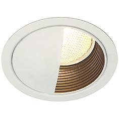 Lightolier recessed lighting lamps plus lightolier 5 lv white wall washer recessed light trim aloadofball Gallery