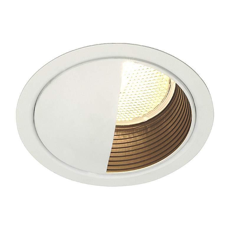 "Lightolier 5"" LV White Wall Washer Recessed Light Trim"