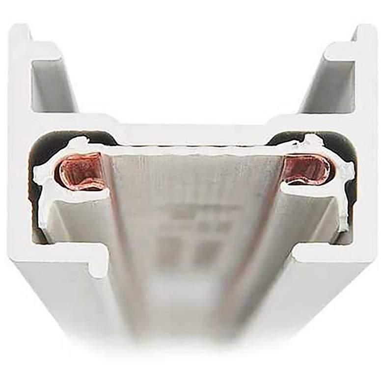 Lightolier Lytespan Basic 4' White Single Circuit Track
