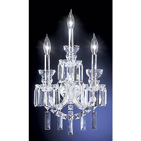 James R. Moder Grand Estate Collection Three Light  Sconce