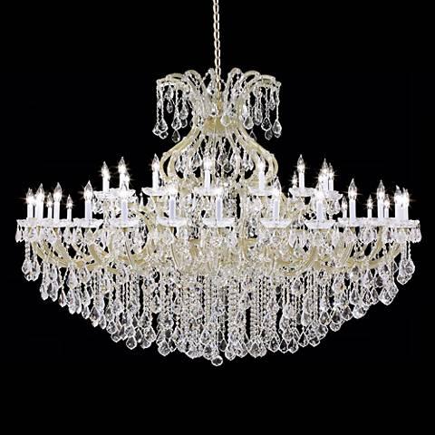 James r moder maria teresa 77 wide grand chandelier 12887 james r moder maria teresa 77 wide grand chandelier mozeypictures Images