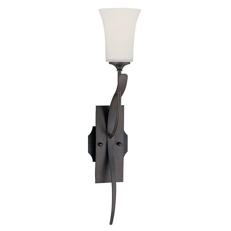 """Feiss Boulevard Collection 23"""" High Roman Bronze Wall Sconce"""