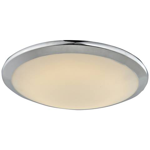 "Avenue Cermack St. 15""W Polished Chrome LED Ceiling Light"