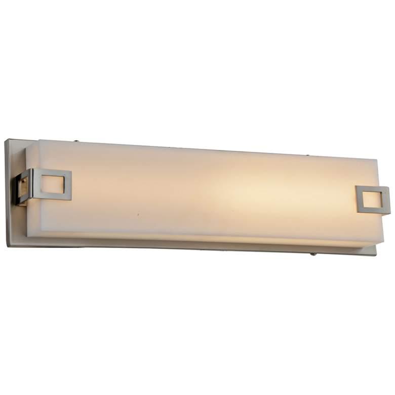 """Avenue Cermack St. 26"""" Wide Brushed Nickel LED Bath Light"""
