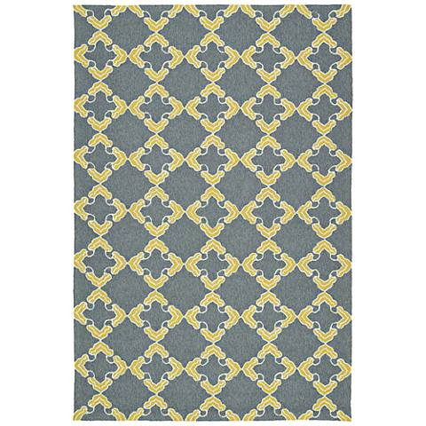Kaleen Escape ESC01-75 Gray Outdoor Area Rug