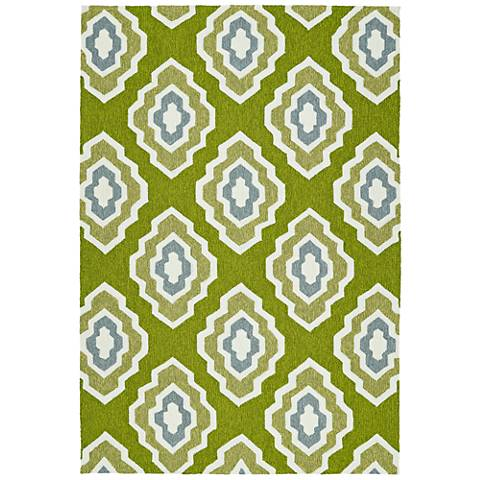 Kaleen Escape ESC02-50 Green Outdoor Area Rug