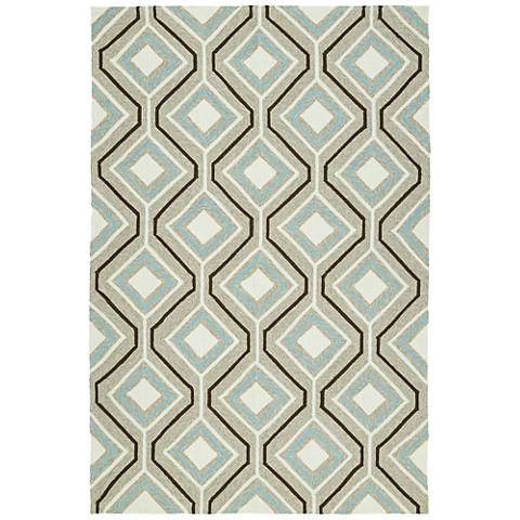 Kaleen Escape ESC04-82 Light Brown Outdoor Area Rug