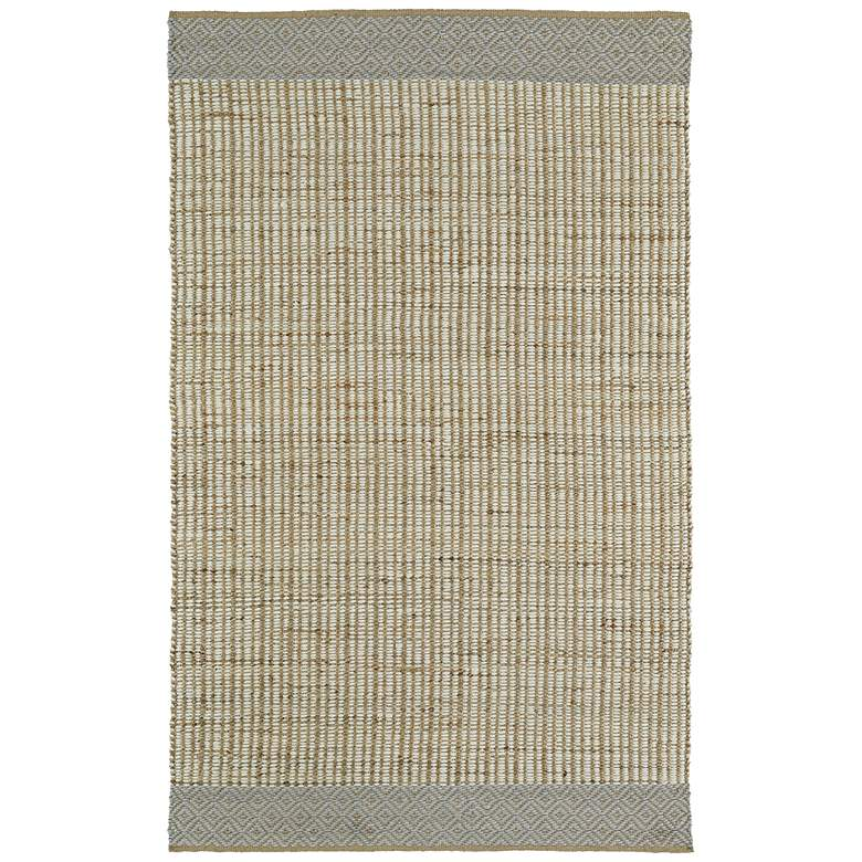 "Kaleen Colinas COL02-01 5' x 7'6"" Ivory Area Rug"