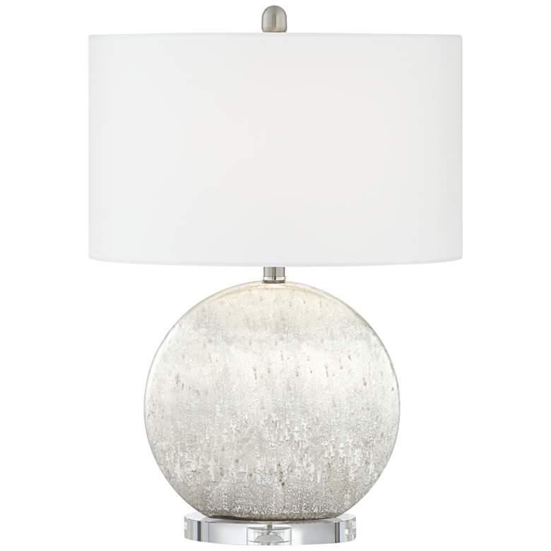 Possini Euro Barkley Sphere Table Lamp