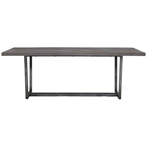 Curated Sedgwick Graystone Rectangular Dining Table