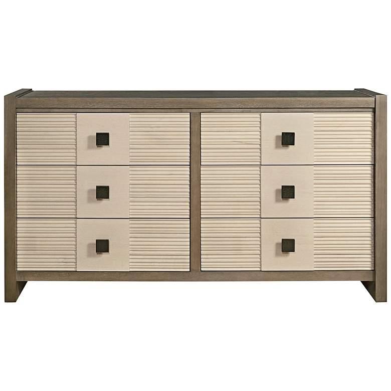 """Synchronicity Horizon 68"""" Wide 6-Drawer Dresser"""