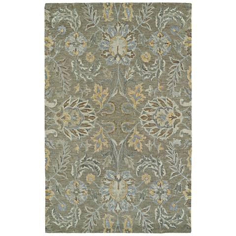 Kaleen Helena 3212-59 Sage Wool Area Rug