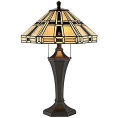 Tiffany table lamps lamps plus lite source mircea dark bronze tiffany style table lamp aloadofball Choice Image