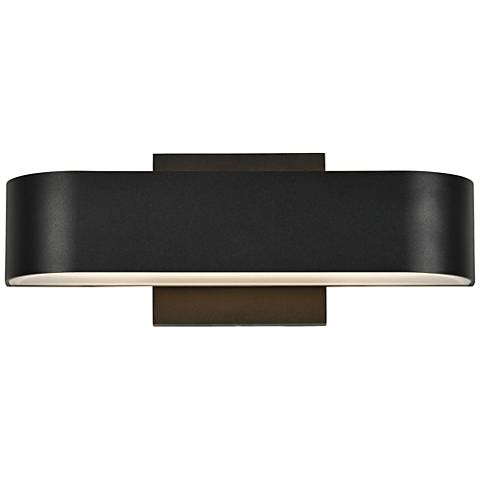 "Montreal 3 1/2"" High Black 2-LED Outdoor Wall Light"