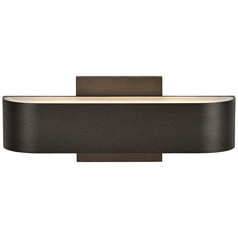 """Montreal 3 1/2"""" High Bronze 2-LED Outdoor Wall Light"""