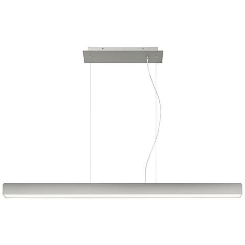 "Tech Lighting Knox 45 1/4""W Satin Nickel LED Island Pendant"