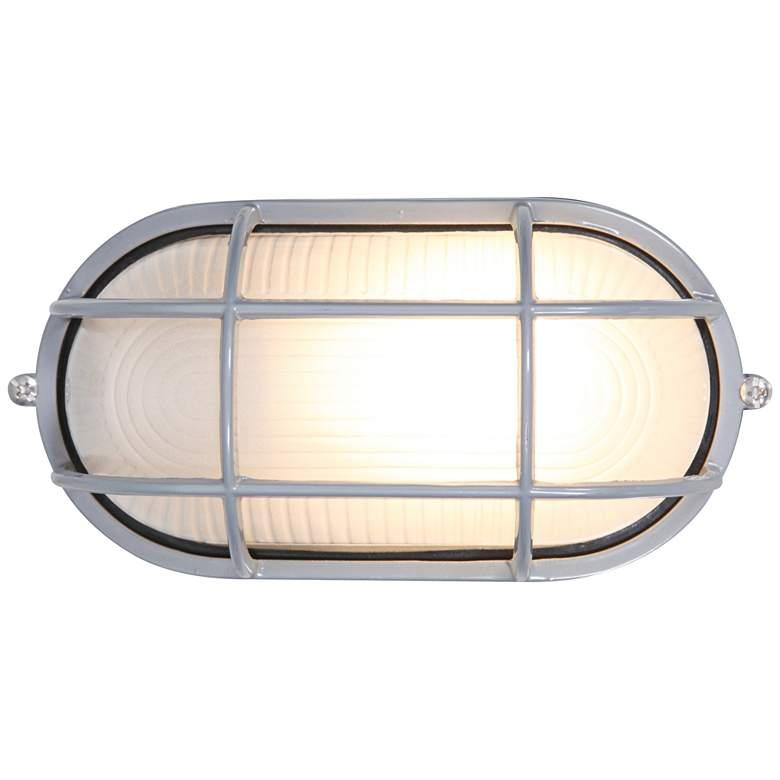 "Nauticus 4 1/4"" High Satin LED Outdoor Wall Light"