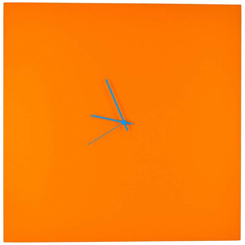 "Orangeout 23"" Square Modern Wall Clock"