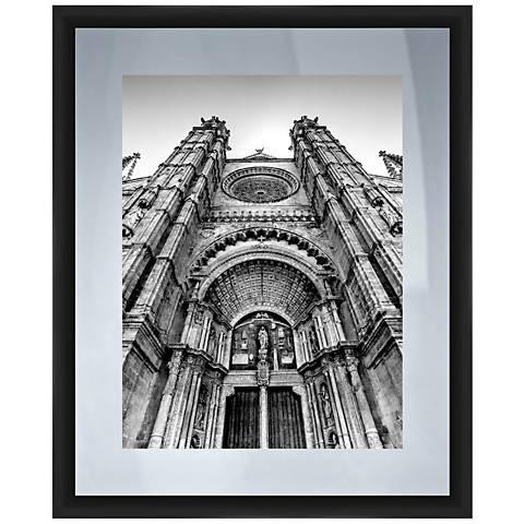 "Notre Dame 22"" High Framed Giclee Wall Art"