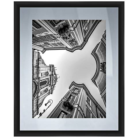 """From The Ground 22"""" High Framed Giclee Wall Art"""