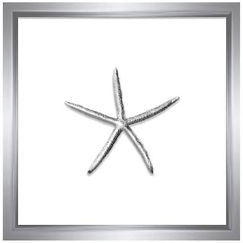 Silver Leafed Thin Starfish 16\