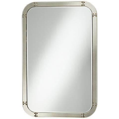 "Cy Champagne 30"" x 46"" Wall Mirror"