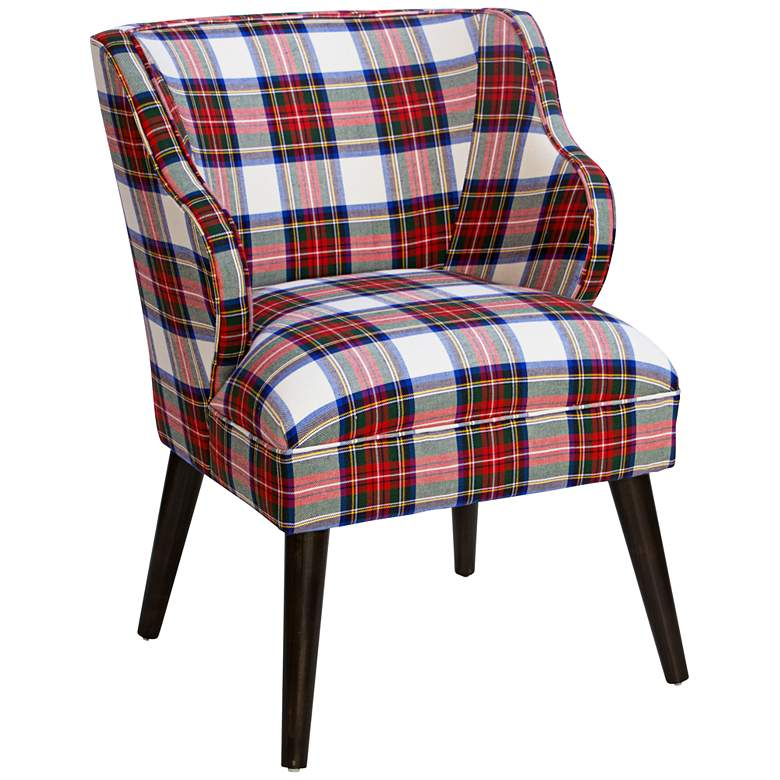 T-bird Stewart Dress Multi-Color Fabric Armchair