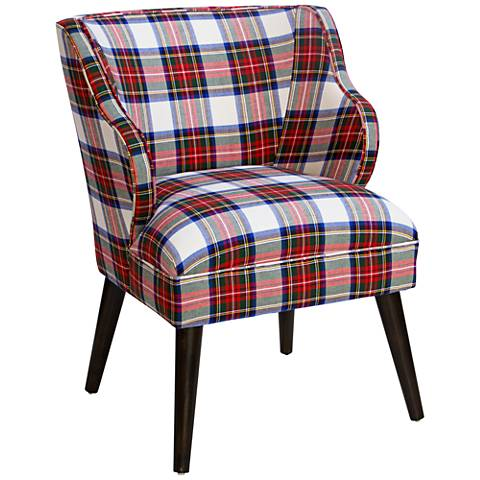 T-bird Stewart Dress Multi-Color Fabric Armchair