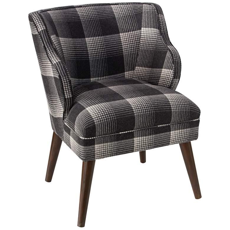 T-bird Aberdeen Flint Fabric Armchair
