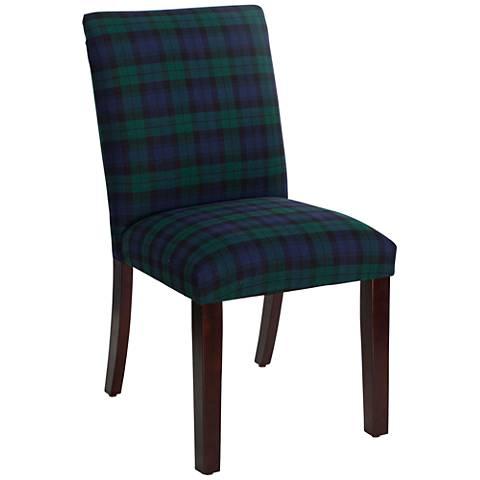 Main Street Blackwatch Fabric Dining Chair