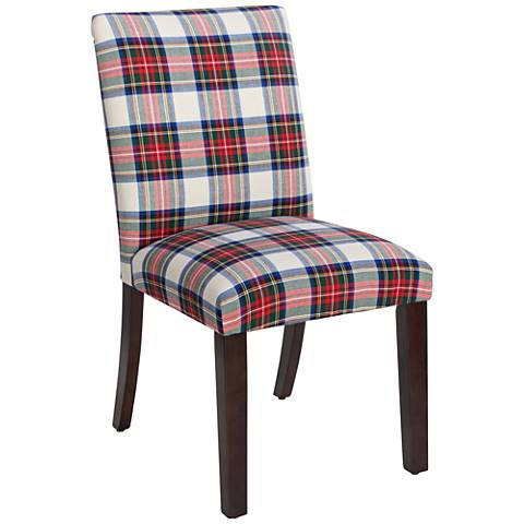 Main Street Stewart Dress Multi-Color Fabric Dining Chair