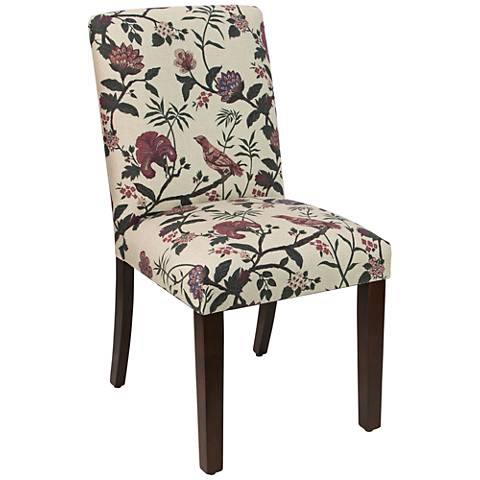 Main Street Shaana Holiday Red Fabric Dining Chair