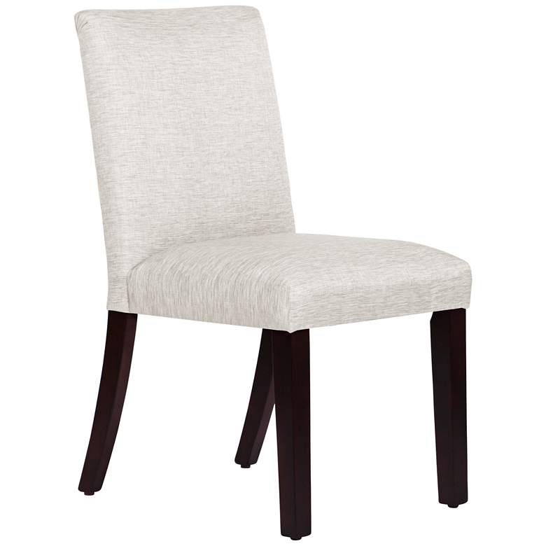 Main Street Groupie Oyster Fabric Dining Chair