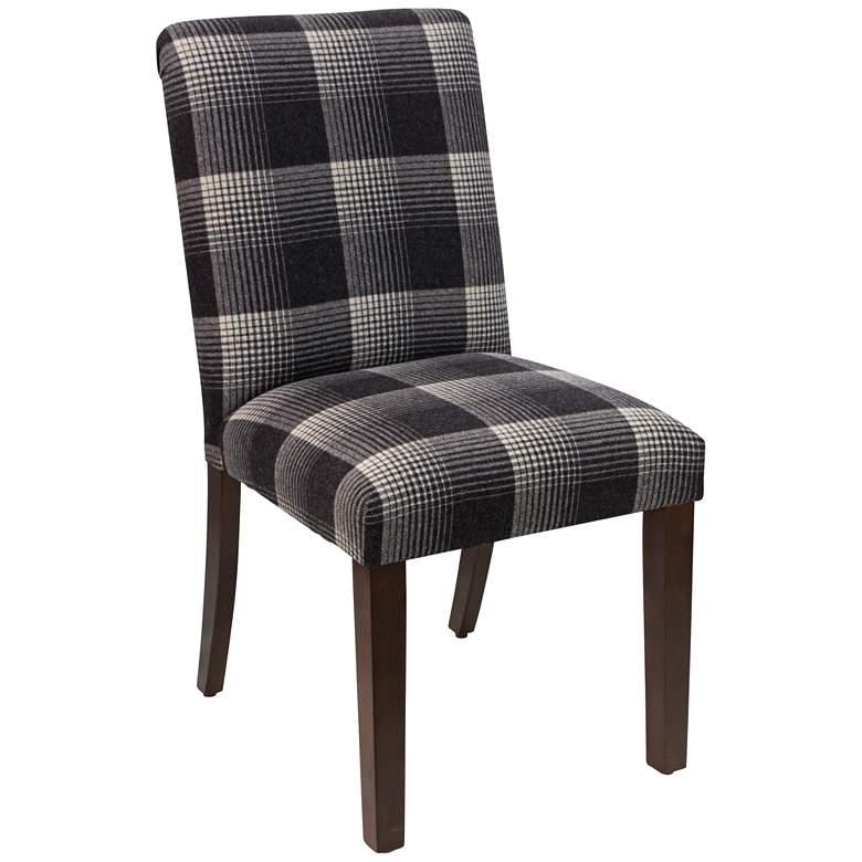 Main Street Aberdeen Flint Fabric Dining Chair