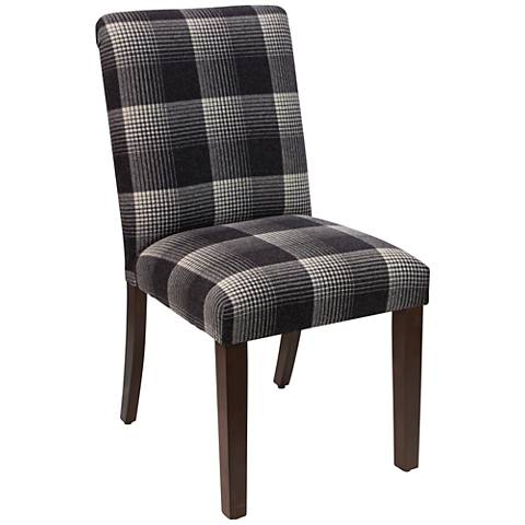 Main Street Aberdeen Flint Fabric Dining Chair
