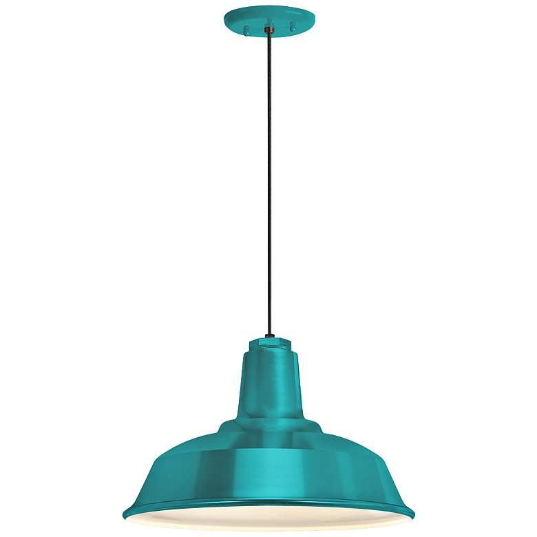 "RLM Heavy Duty 8 1/4""H Tahitian Teal Outdoor"