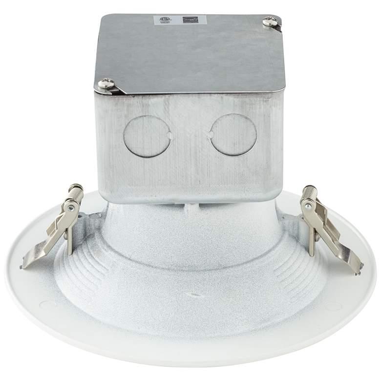 "Canless 5 or 6"" White 15 Watt LED Retrofit Trim"