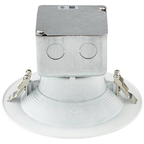 "Can and Housing Free 5 or 6"" White 15 Watt LED Retrofit Trim"