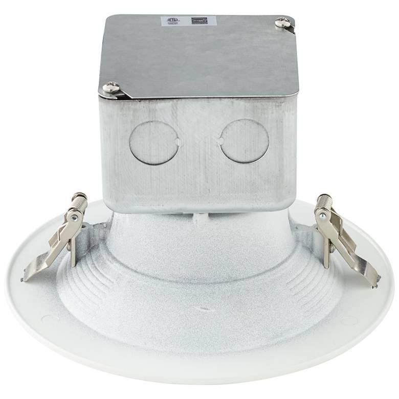 "Can and Housing Free 5 or 6"" White 15 Watt LED Retrofit Trim"