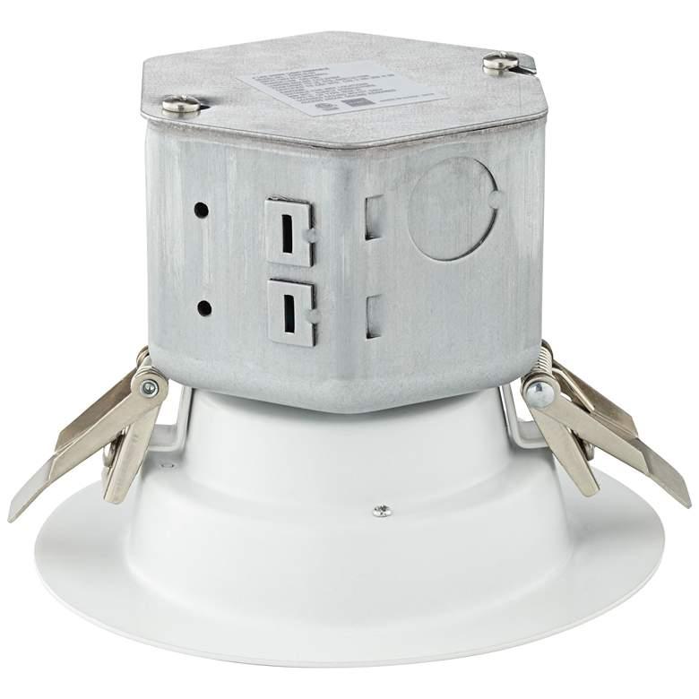 "Can or Housing Free 4"" White 10 Watt LED Trim"