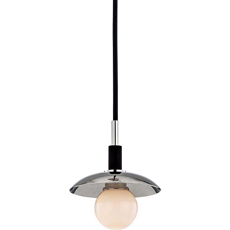 """Hudson Valley Julien 4 3/4"""" Wide Nickel LED"""