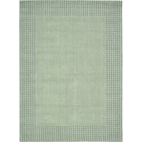 Nourison Cottage Grove KI700 Mist Wool Area Rug