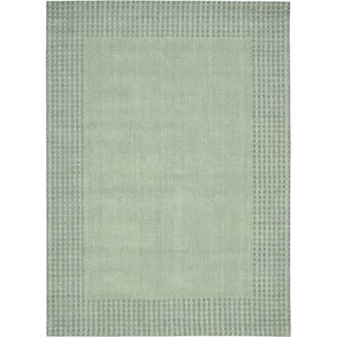 Nourison Cottage Grove KI700 Mist Wool Area Rug