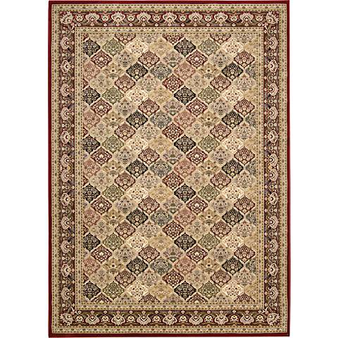 Nourison Antiquities ANT02 Multi-Color Area Rug